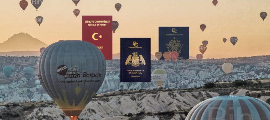 圣基茨 多米尼克 土耳其 要多少钱?三个最强一步到位护照 成本 投资 捐款 买房 取得身份 国籍优势完整比较