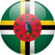 dominica flag ball circle